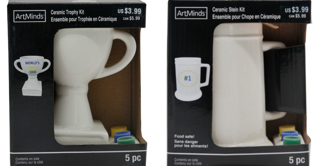 two ArtMinds Ceramic Kits