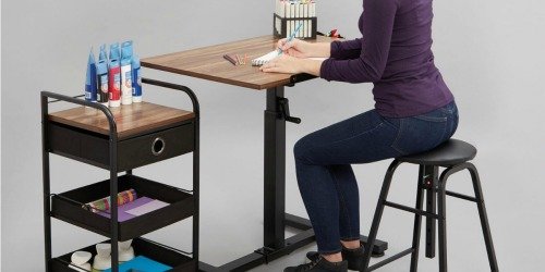 Draft Table w/ Stool & Cart Only $77 Shipped on Michaels.com (Regularly $230)