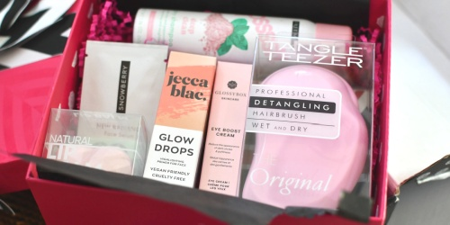 Glossybox Beauty Box Subscription Only $18 Shipped (Over $100 Value)
