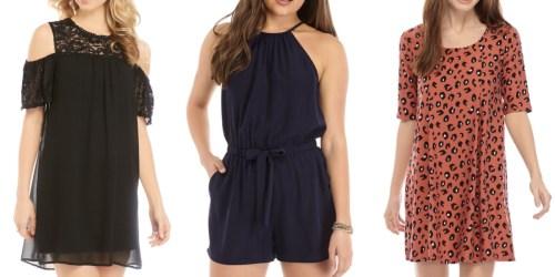 Juniors Dresses & Rompers Only $12 on Belk (Regularly $32)