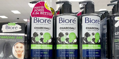 Bioré Charcoal Face Wash Only $3.71 Shipped on Amazon (Regularly $8)