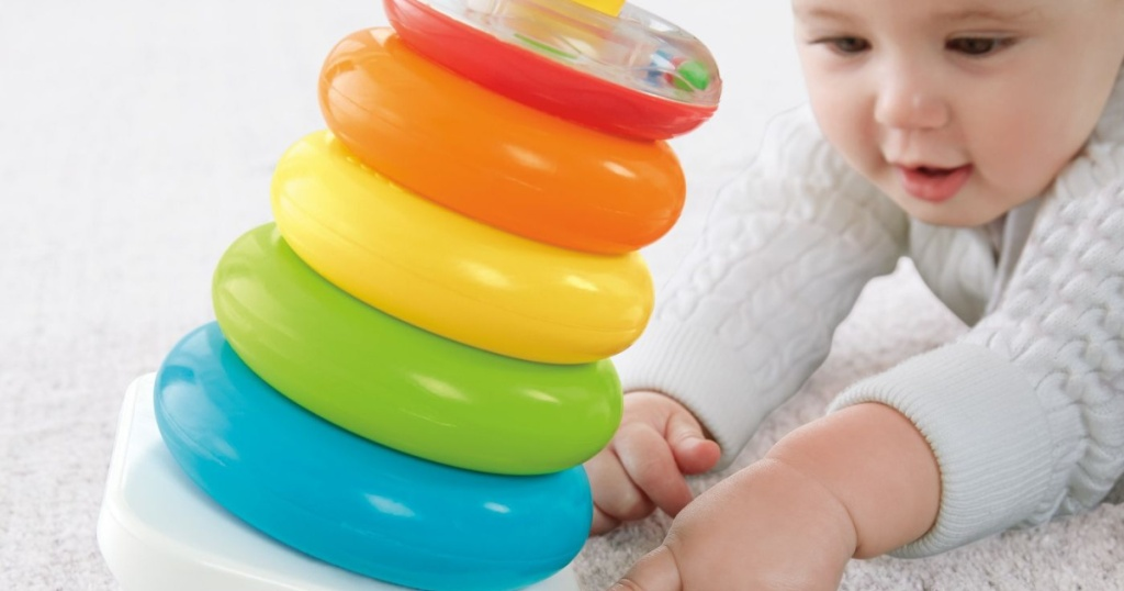 fisher price rock a stack with baby