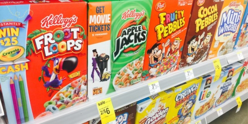 Kellogg's Cereal Just 99¢ Each at Walgreens (Regularly $4.29)
