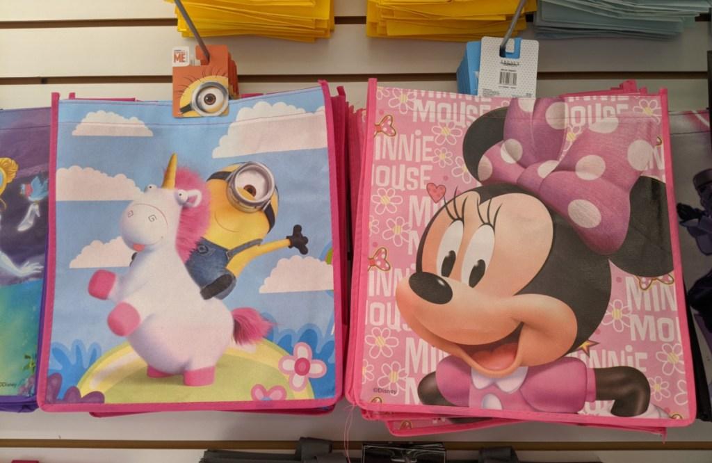 minnie mouse reusable bag at dollar tree