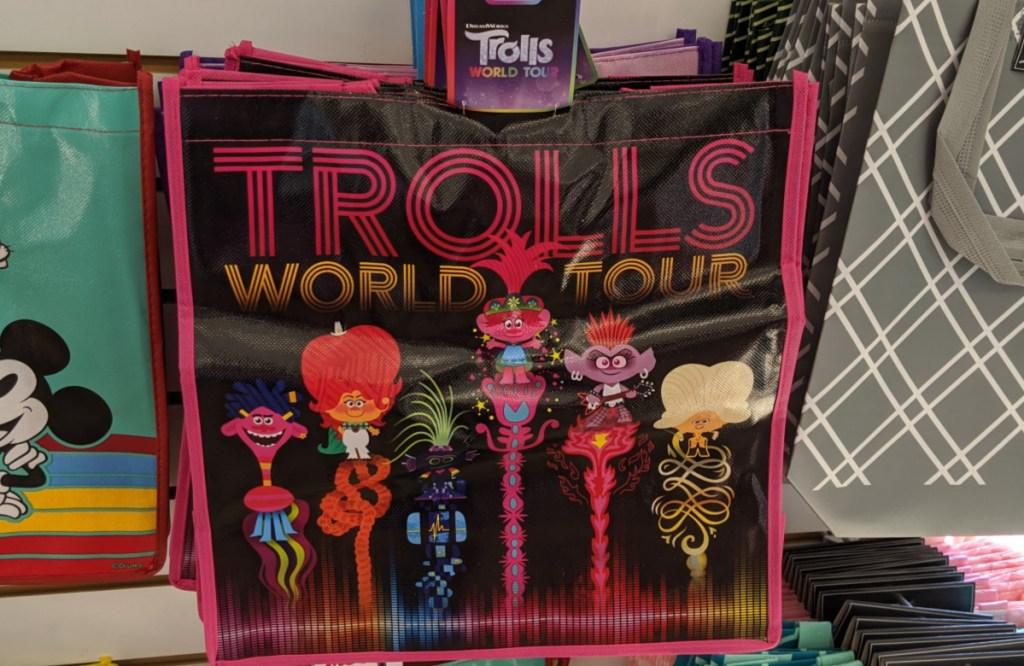 trolls reusable bag at dollar tree