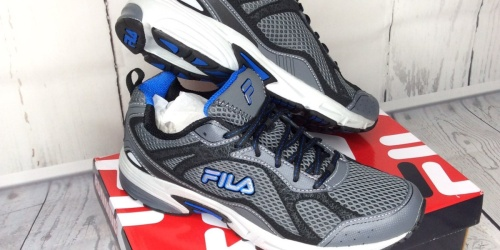 TWO Pairs of FILA Men's Shoes Just $35 Shipped for Kohl's Cardholders