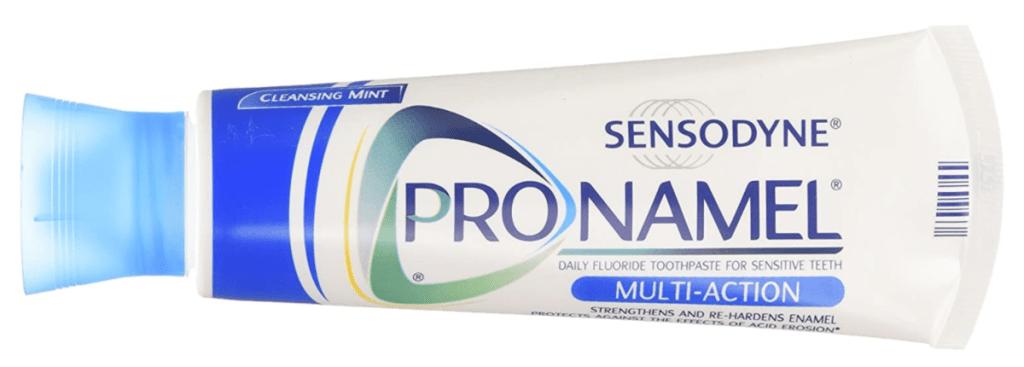 sensodyne pronamel toothpaste multi action tube