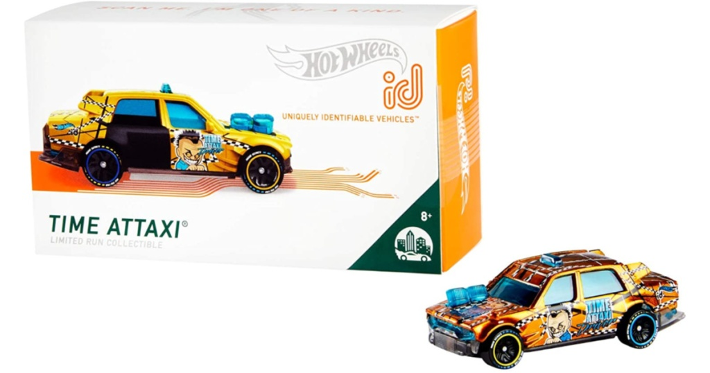 hot wheels id time attaxi with box