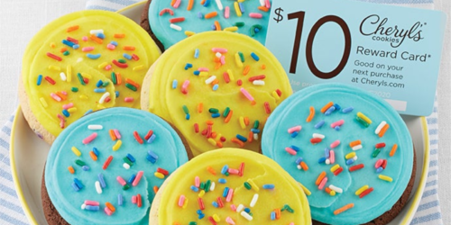 Cheryl's Cookies Birthday Sampler + FREE $10 Reward Only $9.99 Shipped