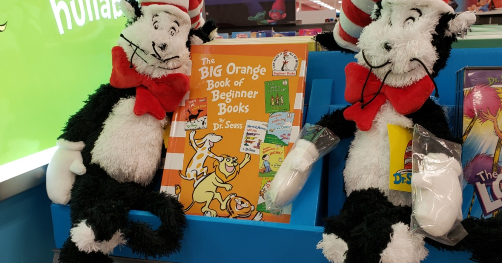 dr seuss the big orange book with cat in the hat