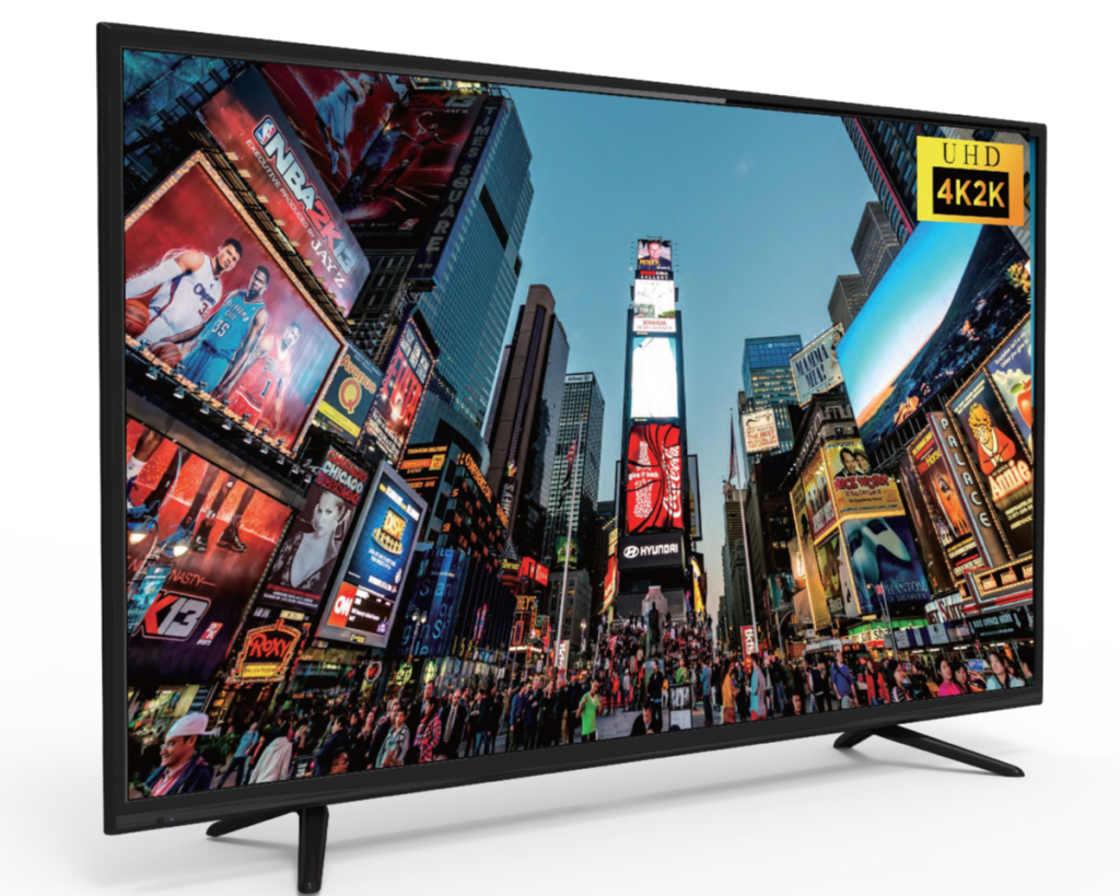 """RCA 55"""" ultra 4K TV with home screen"""