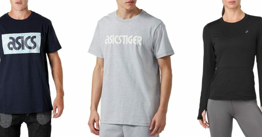 ASICS activewear on men and women