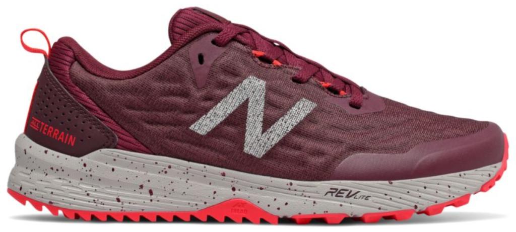 new balance womens nitrel trail running shoes magenta
