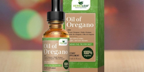 Herbaleaf Oil of Oregano Drops Only $8 on Amazon | Supports a Healthy Immune System
