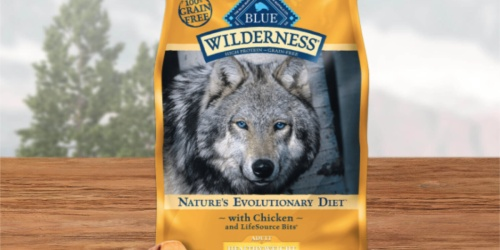 Blue Buffalo Wilderness Dry Dog Food 24-lb. Bag Only $32 Shipped on Amazon (Regularly $54)