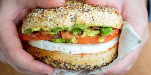 Buy One Bruegger's Bagels Breakfast Sandwich, Get One Free