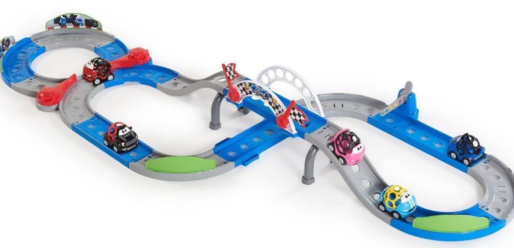 kids race car track set