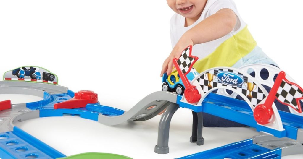Bright Starts Ford Full Speed Raceway Go Grippers Playset
