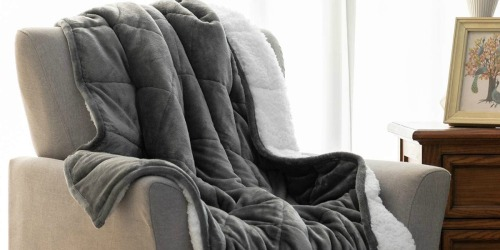 Sherpa Weighted Blankets from $25.79 Shipped on Amazon | Promotes Better Sleep & Relaxation
