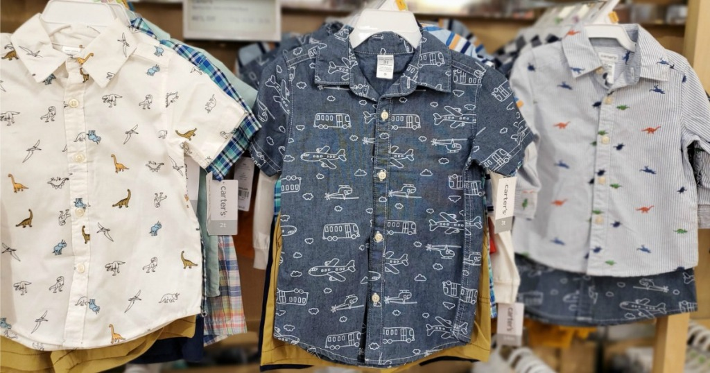 Carter's 2-Piece Boys Sets shown in Kohl's