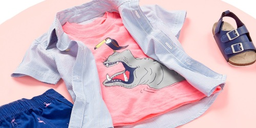 Up to 75% Off Carter's Kids Apparel | Shirts, School Uniforms & More