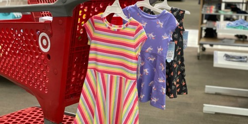 Cat & Jack Girls Dresses from $7 at Target | In-Store & Online