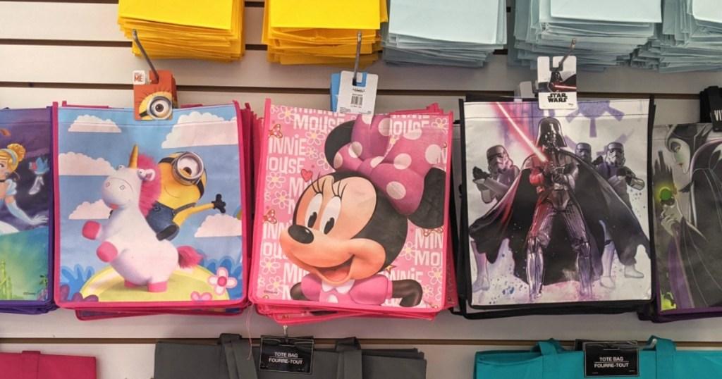 Character Disney Bags at Dollar Tree