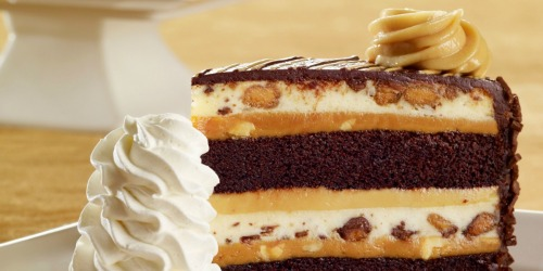 Free Reese's or Hershey's Cheesecake Slice With $40 Online Order From The Cheesecake Factory