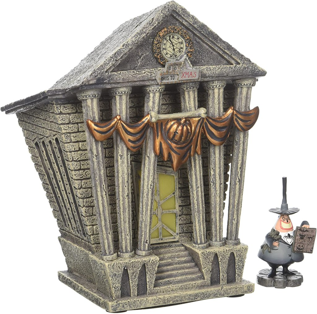 Halloween Town City Hall Figurine