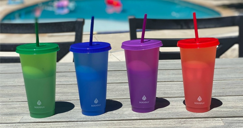 Color Changing Cups from Costco