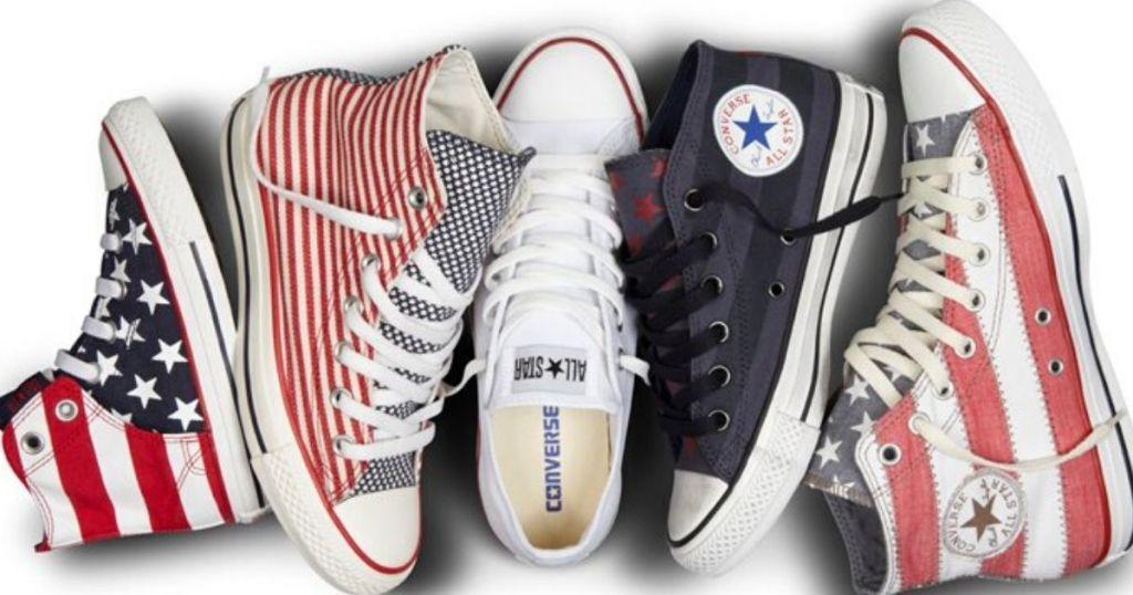 5 patriotic converse all-star sneakers