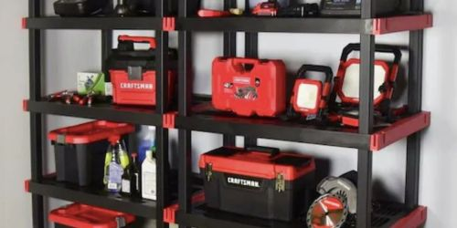 Craftsman 5-Tier Shelving Unit Only $49.98 Shipped on Lowes.com (Regularly $75)