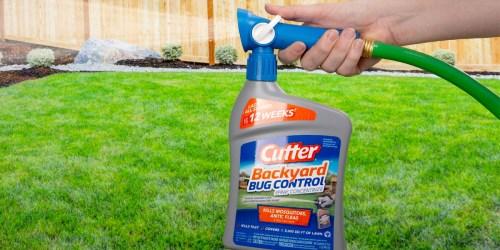 Cutter Backyard Bug Control Spray Just $6.98 on Amazon