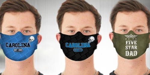TWO Face Masks Only $10.99 on Woot! (Regularly $40) | NFL & Great Dad Styles
