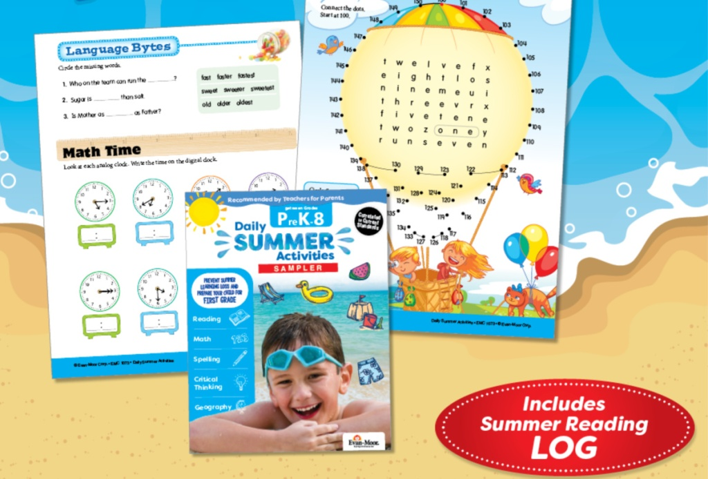 Daily Summer Activities Free Sampler