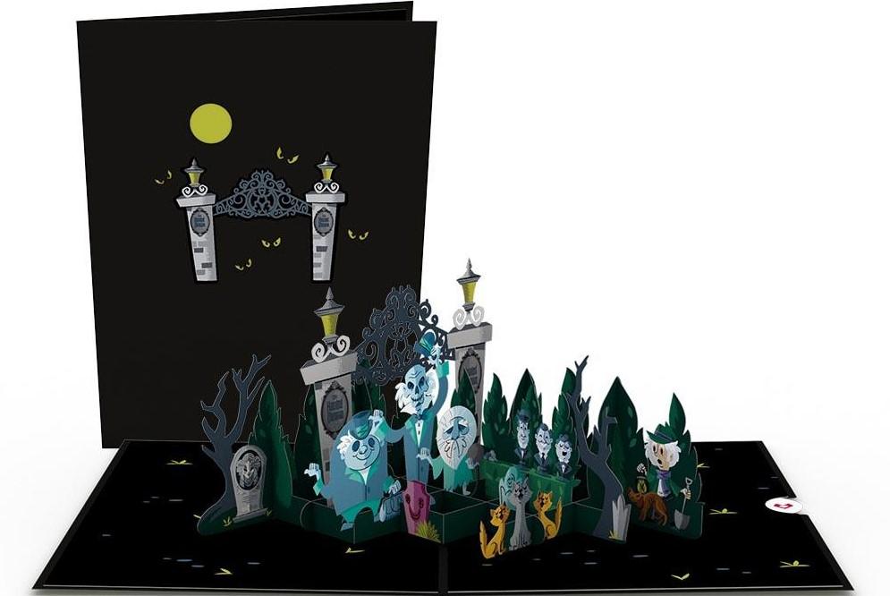 Disney Haunted Mansion Card