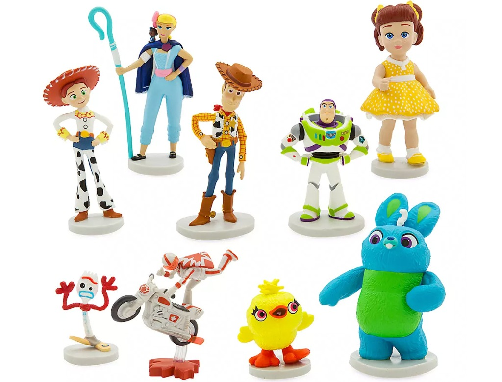 toy story 4 character play set figurines