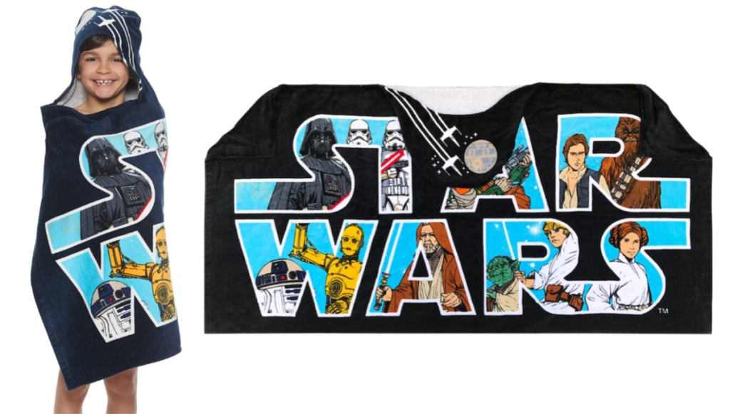 Disney's Star Wars Hooded Bath Wrap