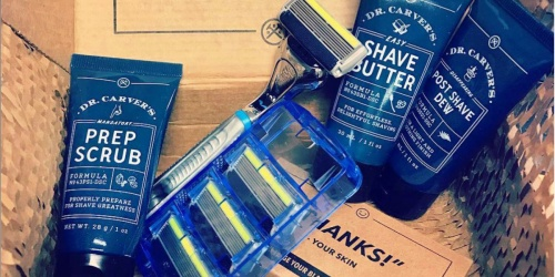 Dollar Shave Club Starter Kit Just $5 Shipped | Includes Razor, Cartridges, Shave Butter & More!