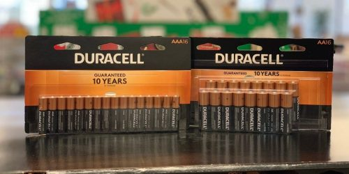 FREE Duracell Battery 16 or 24-Packs After Office Depot Rewards