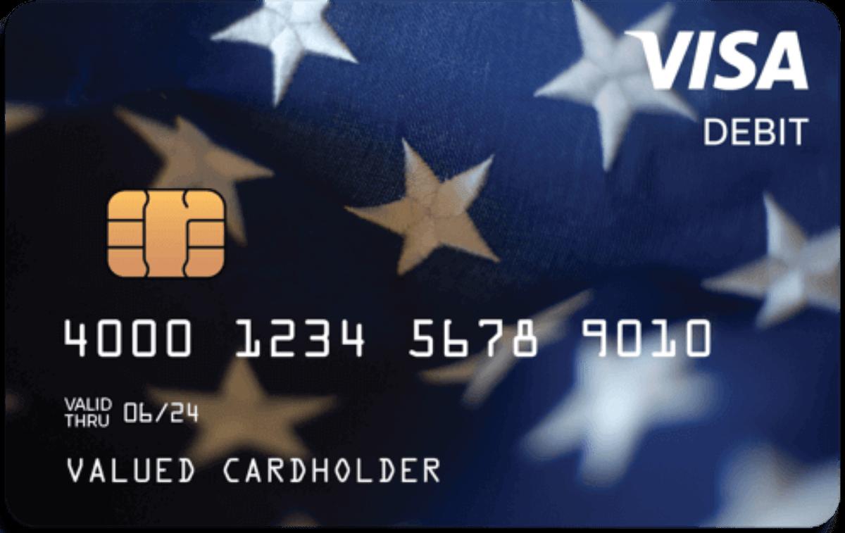 prepaid Visa Debit Card