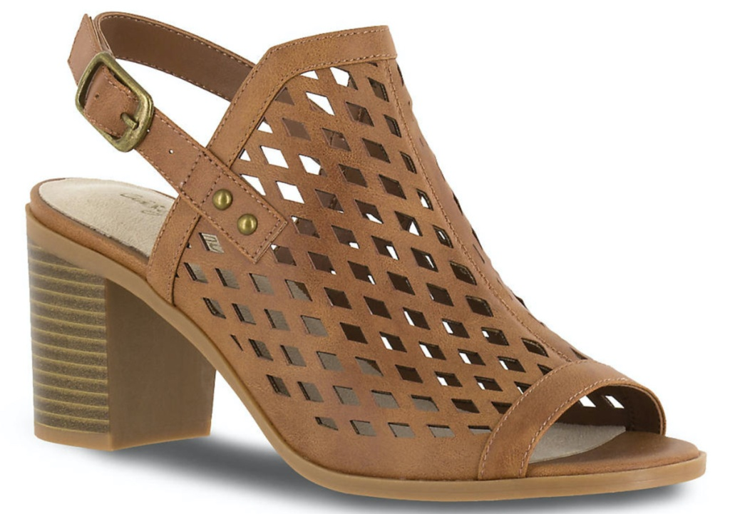 women's tan slingback sandal
