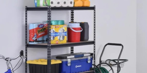 Steel Shelving Unit Only $39.98 on Lowes.com (Regularly $70)