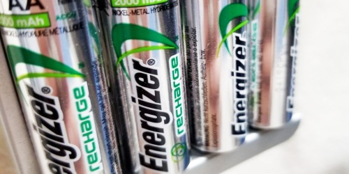 Energizer Rechargeable Batteries 4-Pack Just $6.47 Shipped on Best Buy (Regularly $12)