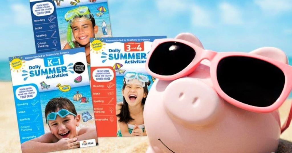 Evan-Moor summer eBooks