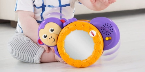 Fisher-Price 1-2-3 Crawl Along Monkey Only $7.50 (Regularly $15)