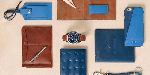 Up to 70% Off Fossil Accessories + Free Shipping, Embossing & Engraving