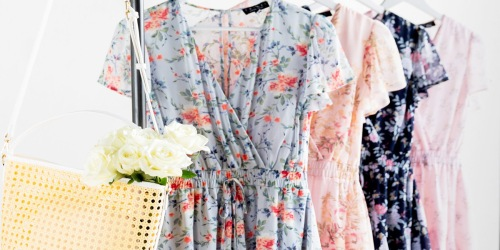 Francesca's Dress, Romper or Jumpsuit AND Jewelry Just $20