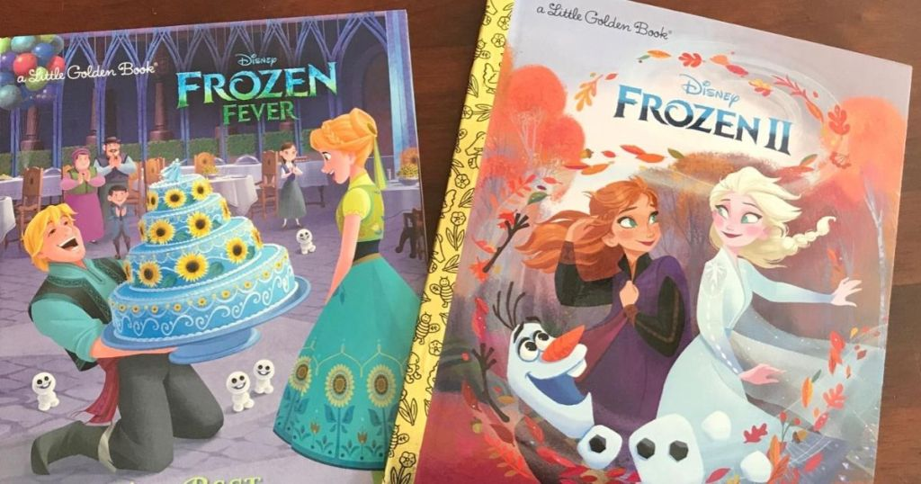 two childrens books