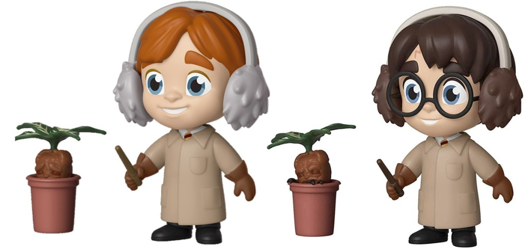 harry potter and ron weasley funko pop figurines